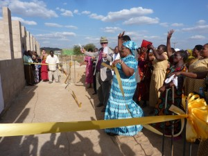 The opening of the new kindergarten in Kondoa Town