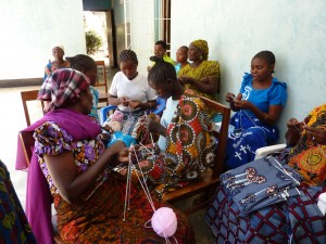 The Mothers' Union learn new skills
